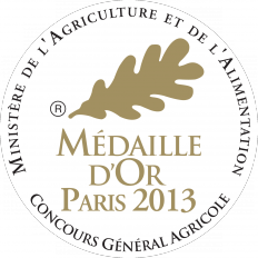 Medaille or 2013 232x232